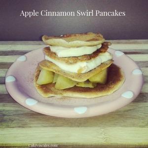 Apple Protein Pancakes
