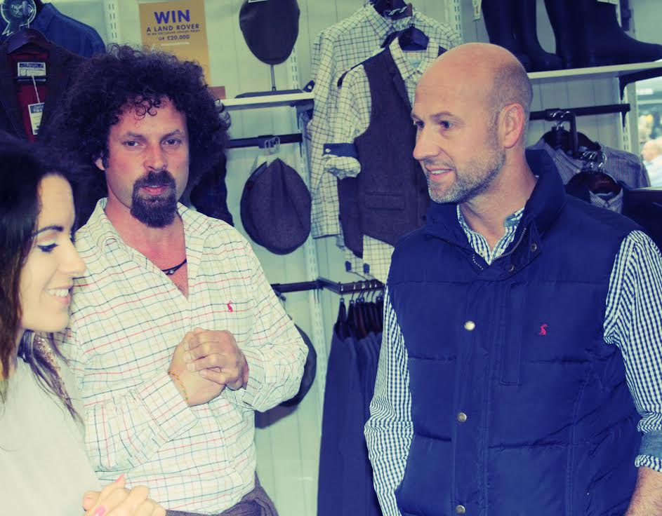 innovative design 9e370 5ec77 Meeting Tom Joule of Joules at Burghley Horse Trials